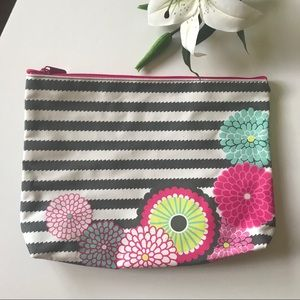 Thirty One pouch bag travel purse floral
